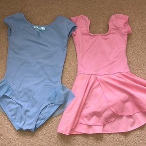 Other - Pink and blue dance leotard size 5